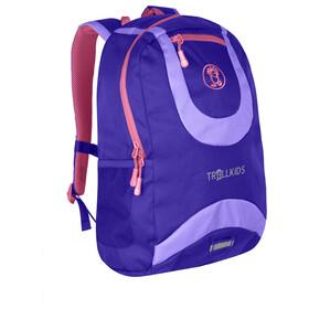 TROLLKIDS Trollhavn Daypack 20l Kids dark purple/lavender/coral rose